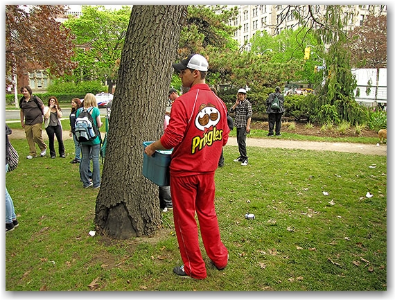 pringles, global marijuana march, freedom festival, queen's park, toronto, city, life