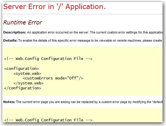 error in forward slash indeed!