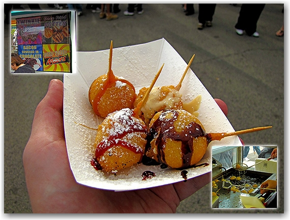 deep-fried butter, cne, canadian national exhibition, toronto, city, life