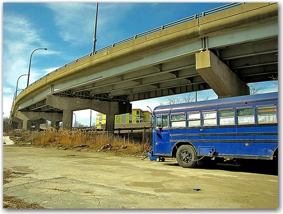 west don lands, eastern avenue bridge, toronto, city, life