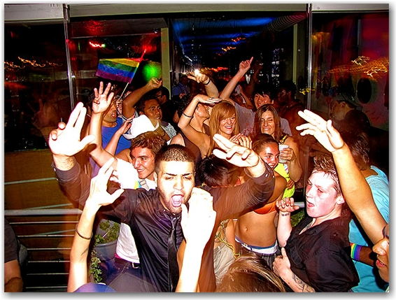 night club, dancing, celebrations, pride, church street, toronto, city, life, blog