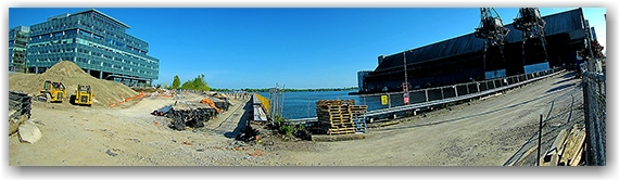 front street, lower jarvis, sugar beach, redpath sugar refinery, waterfront, lake shore, toronto, city, life