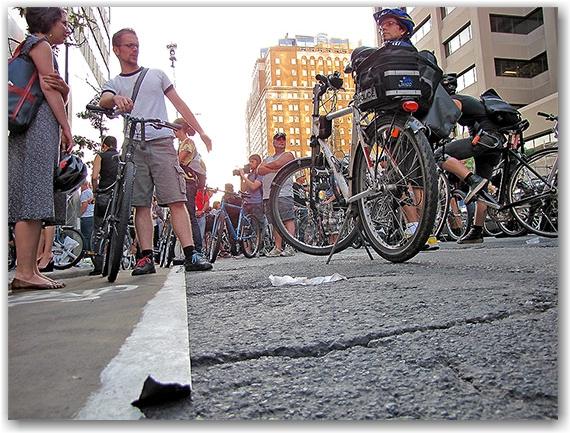 best promotional bike lane ever!