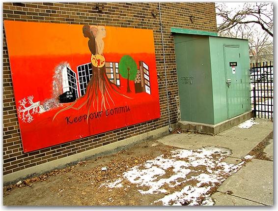 community art, regent park south, public housing project, toronto, city. life