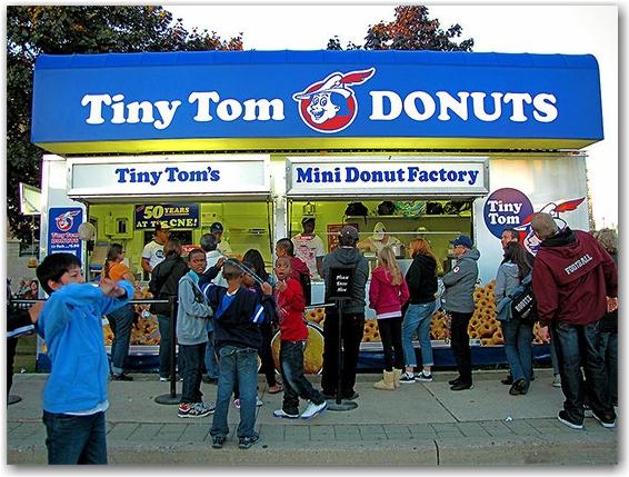 tony tom donuts, cne, canadian national exhibition, toronto, city, life