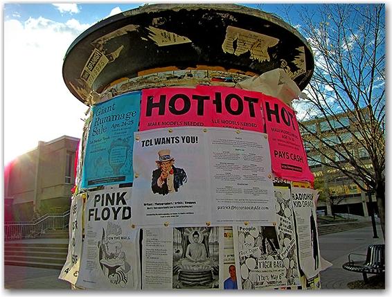 university of toronto, recruitment, torontocitylife.com, uoft, posters, signs, toronto, city, life