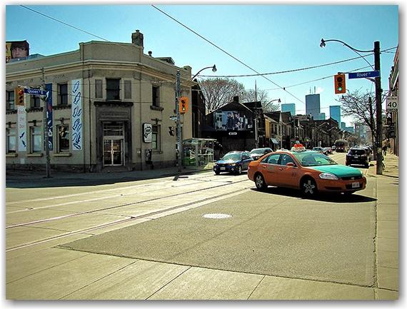 queen street east, river street, city, limits, boundaries, edges, 1834, toronto, city, life