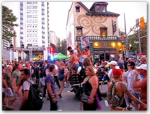 pride celebrations, church street, toronto, city, life, blog