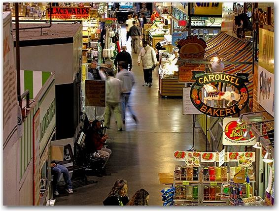 st. lawrence market, toronto, city, life