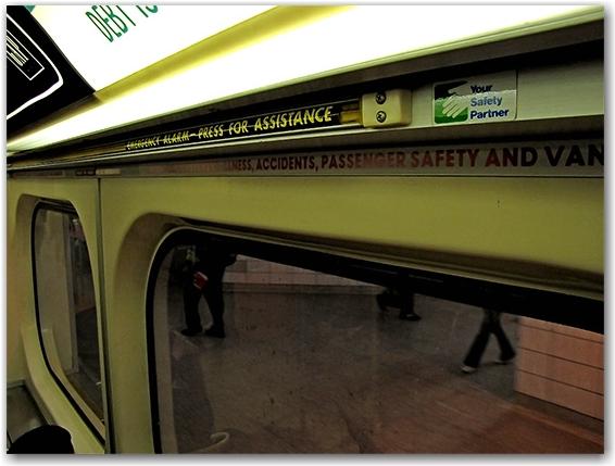 emergency strip, alarm, subway, underground, ttc, toronto transit commission, toronto, city, life