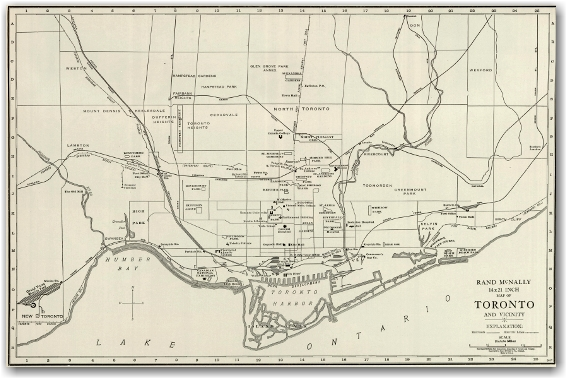 Toronto Industrial 1898 - Rand McNally