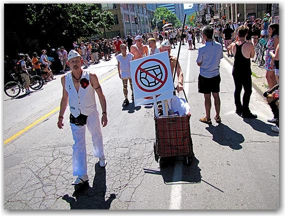pride parade, gerrard street east, toronto city, life
