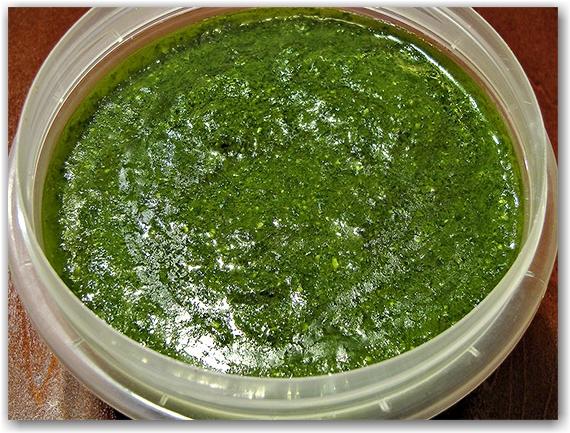 when it's baby-puke green, it's ready!