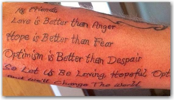 tattoo, troy oakley, jack layton, toronto, city, life, blog