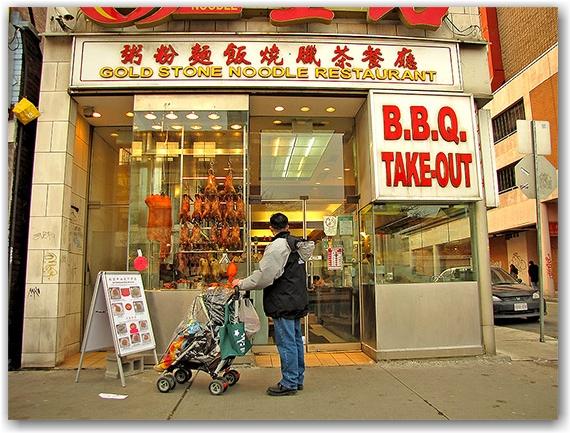 goldstone noodle restaurant, chinatown, spadina avenue, toronto, city, life