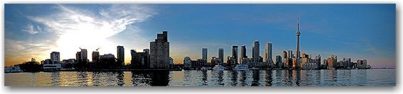 skyline, sunset, harbourfront, lakeshore, lake ontario, waterfront, toronto, city, life