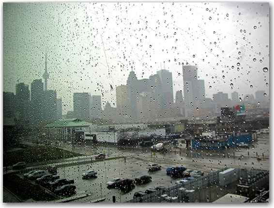 rain, weather, storm, skyline, toronto, city, life, blog