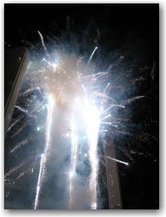 fireworks @ Nathan Phillips Square