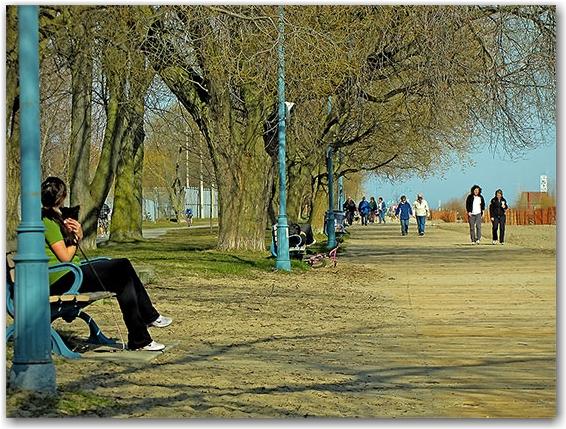 balmy beach, the beach, neighbourhood, neighborhood, district, queen street east, toronto, city, life