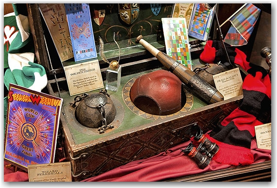 harry potter exhibit, artifacts, movies, quidich balls, ontario  science centre, toronto, city, life