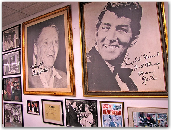 frank sinatra, dean martin, singers, queen of england, ed mirvish, honest ed's store, shop, toronto, city, life