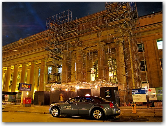union station, revitalization, project, transit, go, construction, toronto, city, life