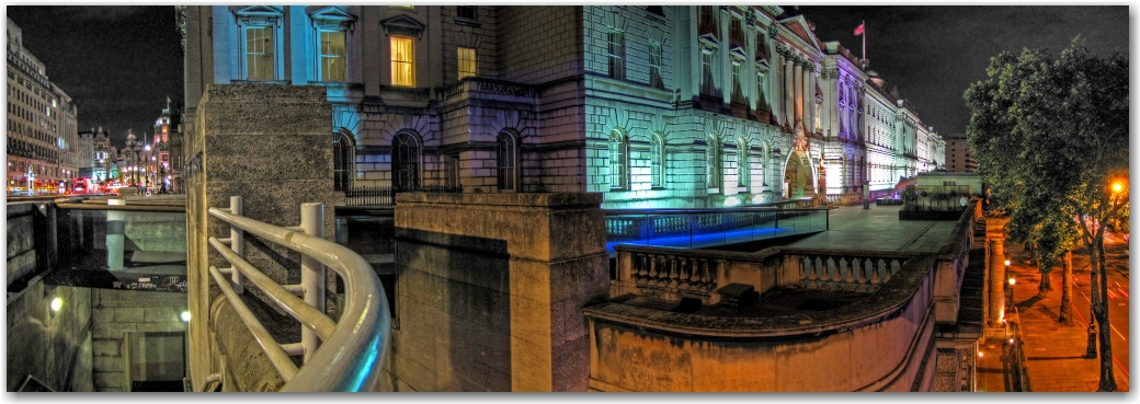 Somerset House after dark