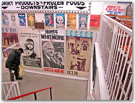honest ed's, store, shop, posters, shows, mirvish productions, toronto, city, life