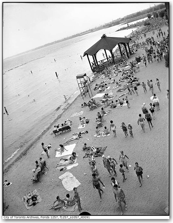 sunnyside beach, history, archives, toronto, city, life