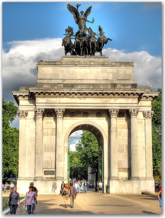 Memorial Gates at Green Park