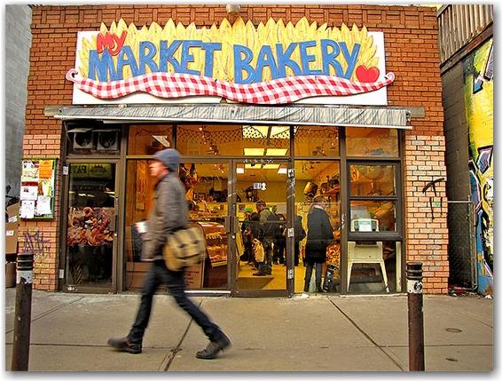 market bakery, breads, cakes, pastries, kensington market, toronto, city, life