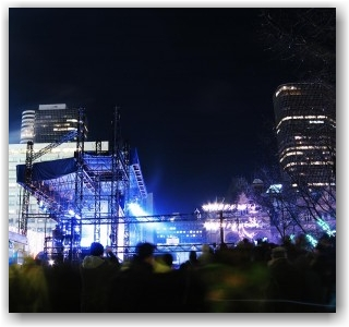 the stage @ Nathan Phillips Square