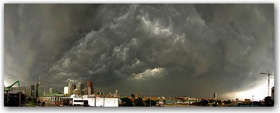 storm, weather, panorama, skyline, toronto, city, life, blog