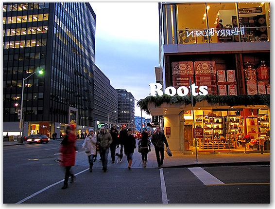 bloor west, roots canada, yorkville, toronto, city, life