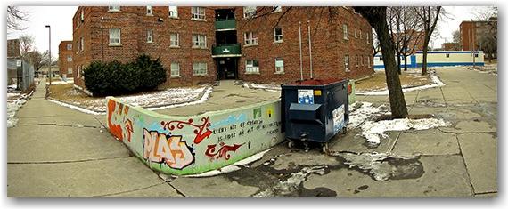 regent park, sackville street, north, toronto, city, life
