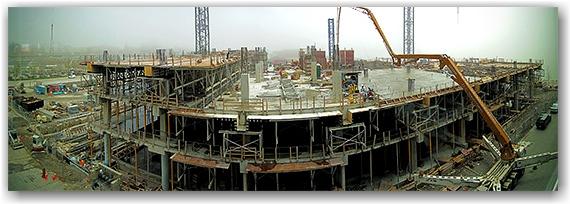 george brown college, construction, queen's quay, corus quay, lakeshore, consrtuction, docks, lake ontario, fog, weather, toronto, city, life, blog