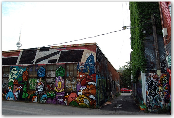 graffiti alley, contributed photography, go ask alice she will know, toronto, city, life