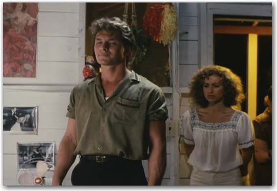 patrick swayze, dirty dancing, movie still, toronto, city, life