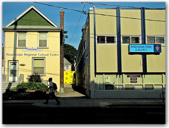 rosicrucian order, amorc, headquarters, hq, bayview avenue, toronto, city, life