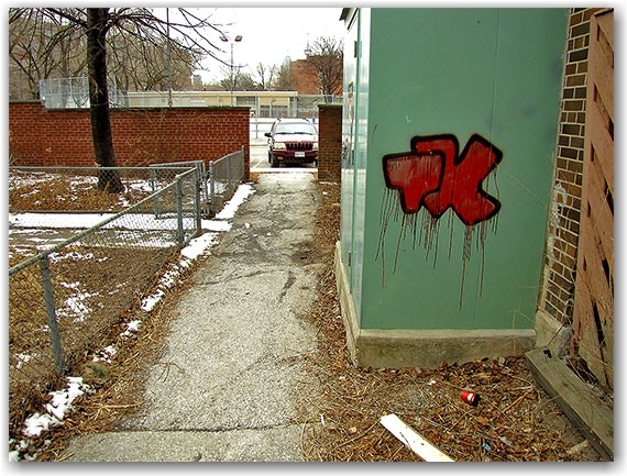graffiti, regent park south, public housing project, toronto, city. life