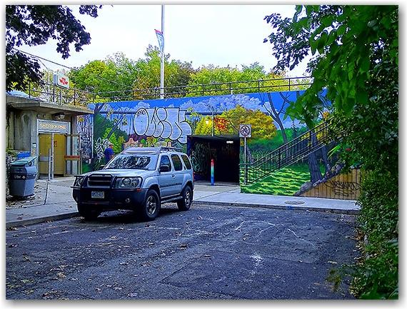 Sherbourne Station entrance, Bloor Street East