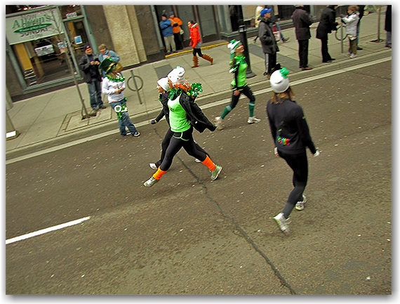 st. patrick's day parade, irish dancing, yonge street, toronto, city, life