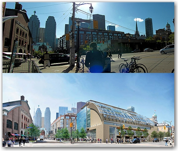 green team, st. lawrence market, north hall, revitalization  project, design, toronto, city, life