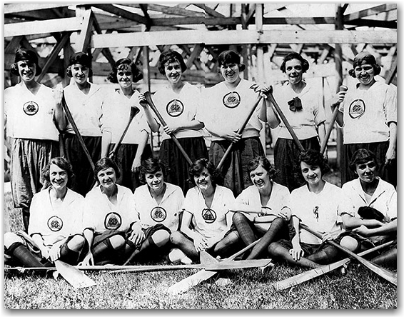 rowing team, archives, toronto, city, life
