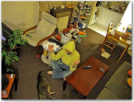 living room, toronto, city, life
