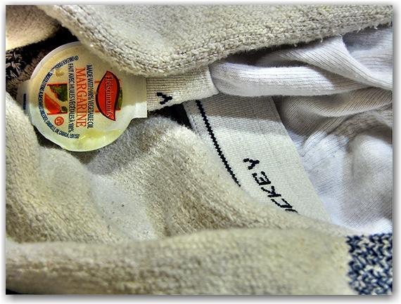 laundry, socks, underwear, margarine container, toronto, city, life
