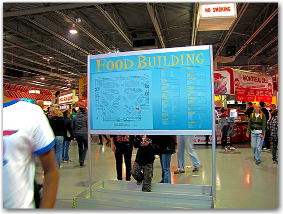 food building map, cne, canadian national exhibition, toronto, city, life
