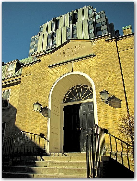 howard ferguson hall, st. george campus, university of toronto, u of t, toronto, city, life
