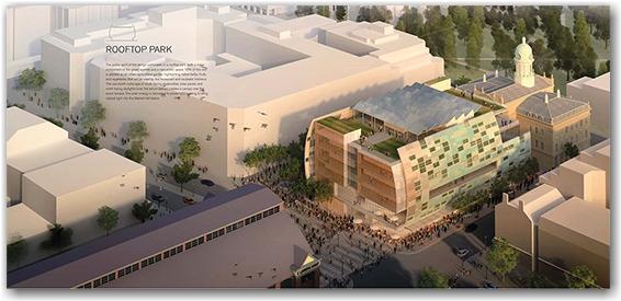 orange team, st. lawrence market, north hall, revitalization project, design, toronto, city, life