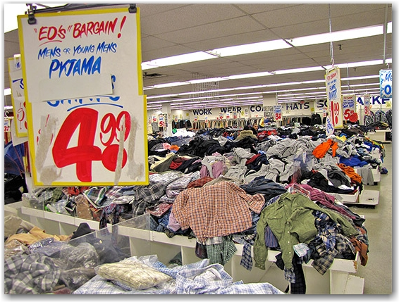 honest ed's, bargains, discount store, clothes, piles, shop, mirvish village, toronto, city, life